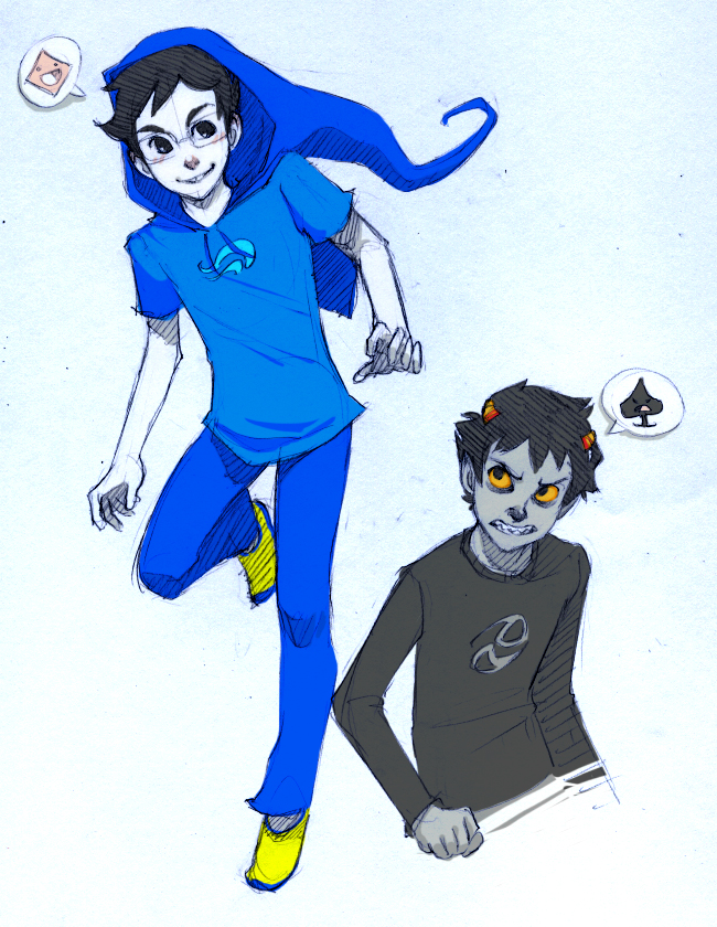 Tagged: ms paint adventures homestuck john egbert seventwelve